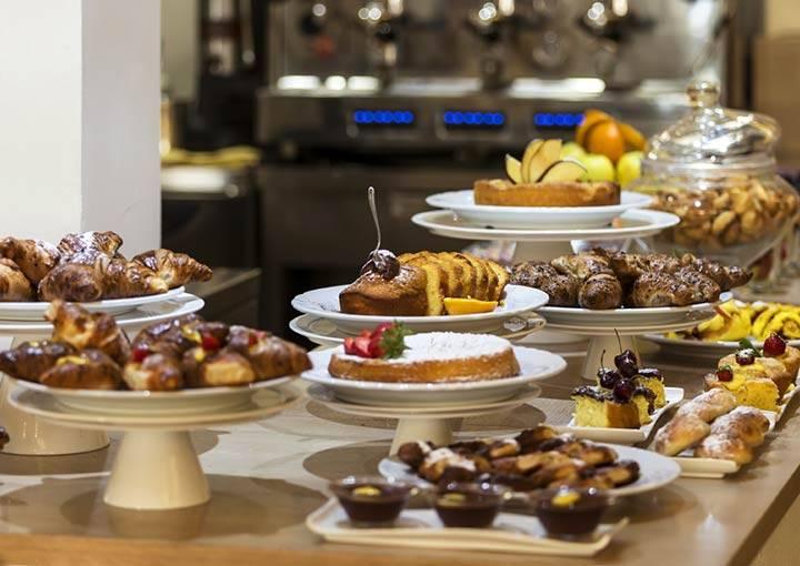 Colazione super Hotel Boemia Riccione