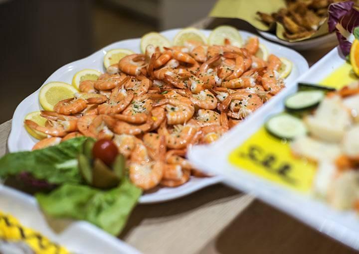 Hotel Boemia Riccione piatti di pesce