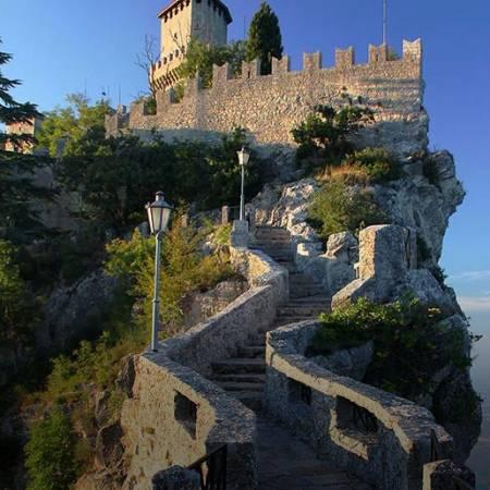 Richtung San Marino